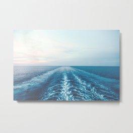 boat trail Metal Print