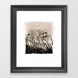 art in the sand 2 Framed Art Print