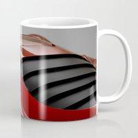 ferrari Mugs featuring Ferrari by O.K.