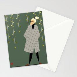 fashion old lady Stationery Cards