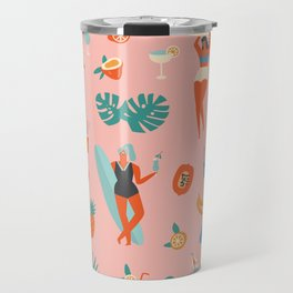 Tiki party Travel Mug