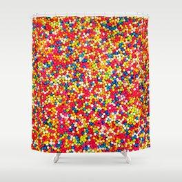 Round Sprinkles Shower Curtain