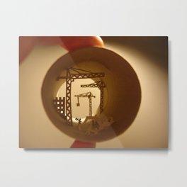 "Roll ""Building yard"" (Rouleau ""Chantier"") Metal Print"