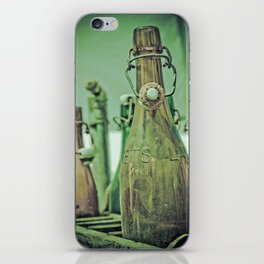 Old Bottles iPhone Skin