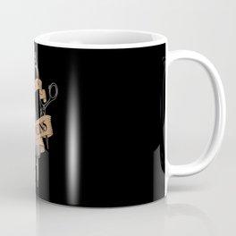 It's In My Veins   Barber Hairdresser Coffee Mug