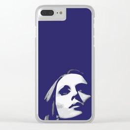 Fairouz - Pop Art Clear iPhone Case