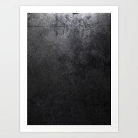 concrete Art Prints featuring CONCRETE by Danielle Fedorshik
