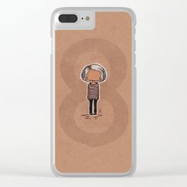 Tiny Riley Clear iPhone Case