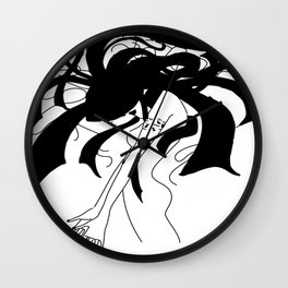 CRAZY HAIR Wall Clock