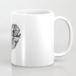 Butterflies +heart  Coffee Mug