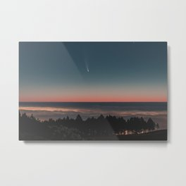 Fantasy above the clouds Metal Print