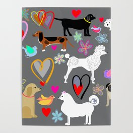 All dogs are beautiful Poster