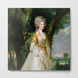 "Sir Joshua Reynolds ""Lady Sunderland"" Metal Print"