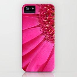 Pink Sunburst iPhone Case