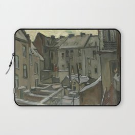 Houses Seen from the Back Laptop Sleeve