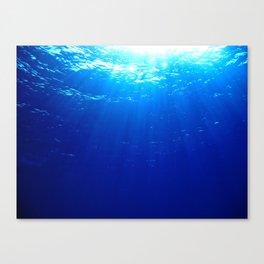Underwater Light Canvas Print