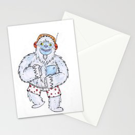 Dancing Yeti Stationery Cards