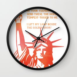 I'm with her Wall Clock