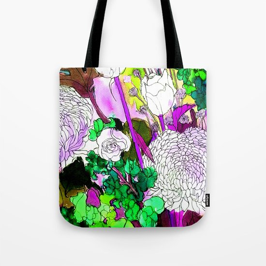 forest flowers 2 Tote Bag