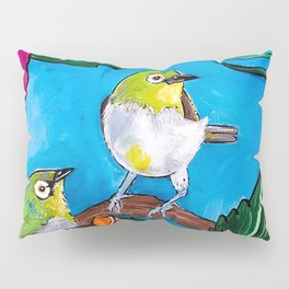 Tropical Tweets Pillow Sham