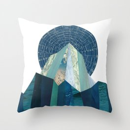Olympus Rising Throw Pillow