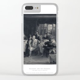 """Falstaff and his friends. (""""The Merry Wives of Windsor"""") Room Decor Clear iPhone Case"""