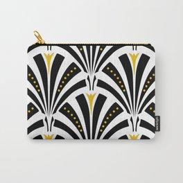 Art Deco Fans Carry-All Pouch