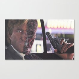 Two-Face & Harvey Dent by Alexander Fjelnseth Canvas Print