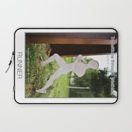 RUNNER of Transitions through Triathlon Laptop Sleeve