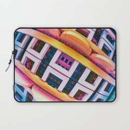 Brace Face Space. 3D Abstract Design Laptop Sleeve
