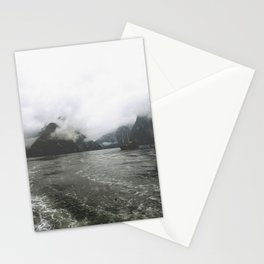 Boat in the Fog Stationery Cards