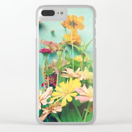 I Carry You With Me Into the World Clear iPhone Case