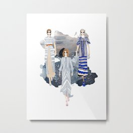 Fashionary - Blues Metal Print