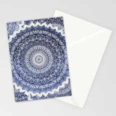 COLD WINTER MANDALAS Stationery Cards