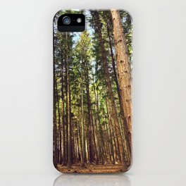 The trees iPhone Case