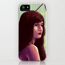 Triangirl iPhone Case