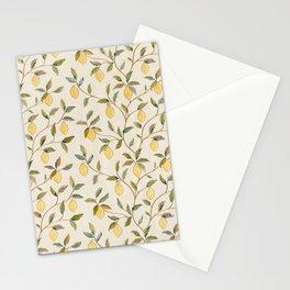 William Morris Vintage Lemon Tree Pattern Stationery Cards