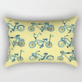 Gonna ride my bike 'til I get home Rectangular Pillow