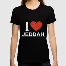 I Love Jeddah T-shirt