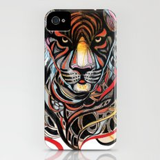Tiger iPhone (4, 4s) Slim Case
