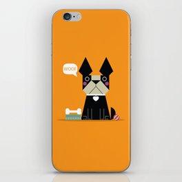 Woof iPhone Skin