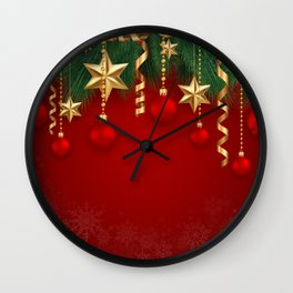 Christmas decoration Wall Clock