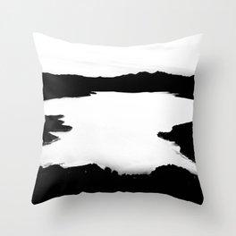 SPILT MILK Throw Pillow