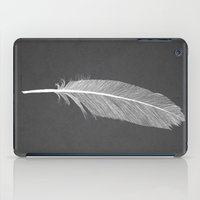 black swan iPad Cases featuring Black Swan by Martin Lucas