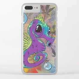 Sea Weed Clear iPhone Case