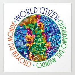 World Citizen Art Print