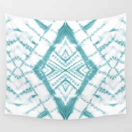 Dye Diamond Sea Salt Wall Tapestry