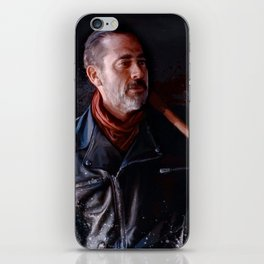 Negan And Lucille - The Walking Dead iPhone Skin