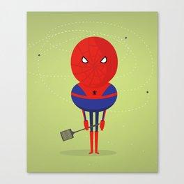 Spider man: My bug hero! Canvas Print