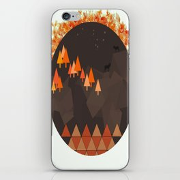 In the mountains iPhone Skin